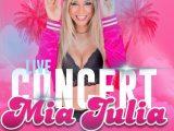 Mia Julia en concert live